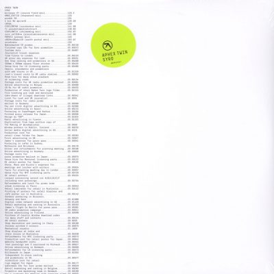 "Aphex Twin - Syro (3x12"") (Warp)"